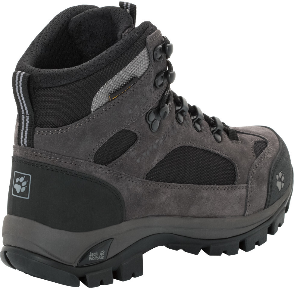 jack wolfskin all terrain 8 texapore shoes women black at. Black Bedroom Furniture Sets. Home Design Ideas